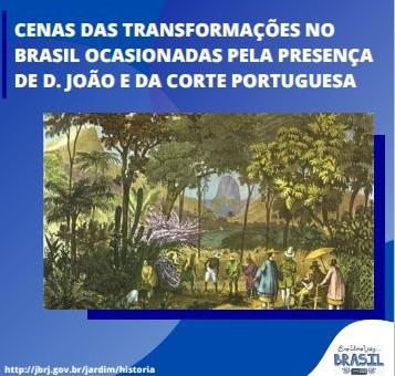 capa. cena das tranformações no brasil